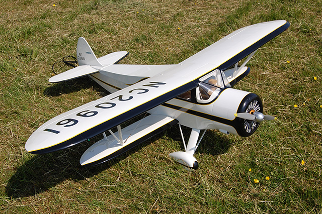 Lovely Waco SRA by Mike Langford. (HDMAC Middle Wallop Fly-In)