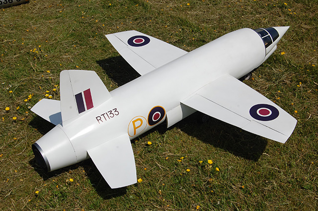 Will and Dave Beavor's Miles M20 prototype. (HDMAC Middle Wallop Fly-In)