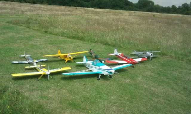 Some  		aircraft flown at Cranford Park