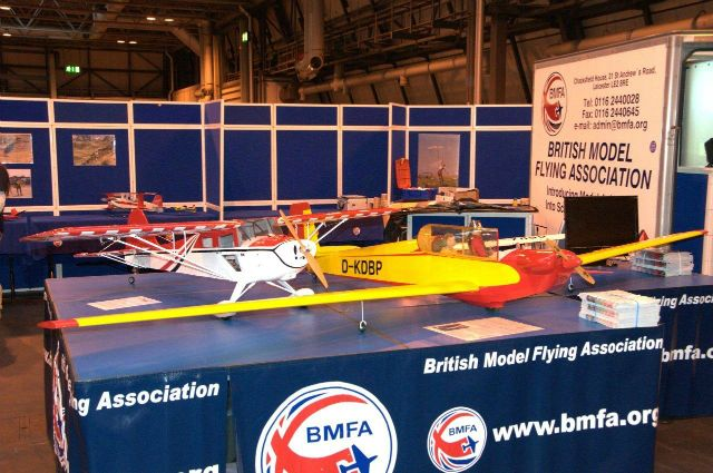 Robert Models at the NEC Flying  		Show